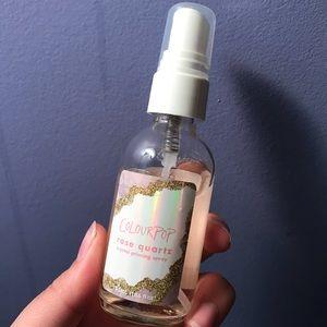 "Colourpop Crystal Priming Spray in ""Rose Quartz"""
